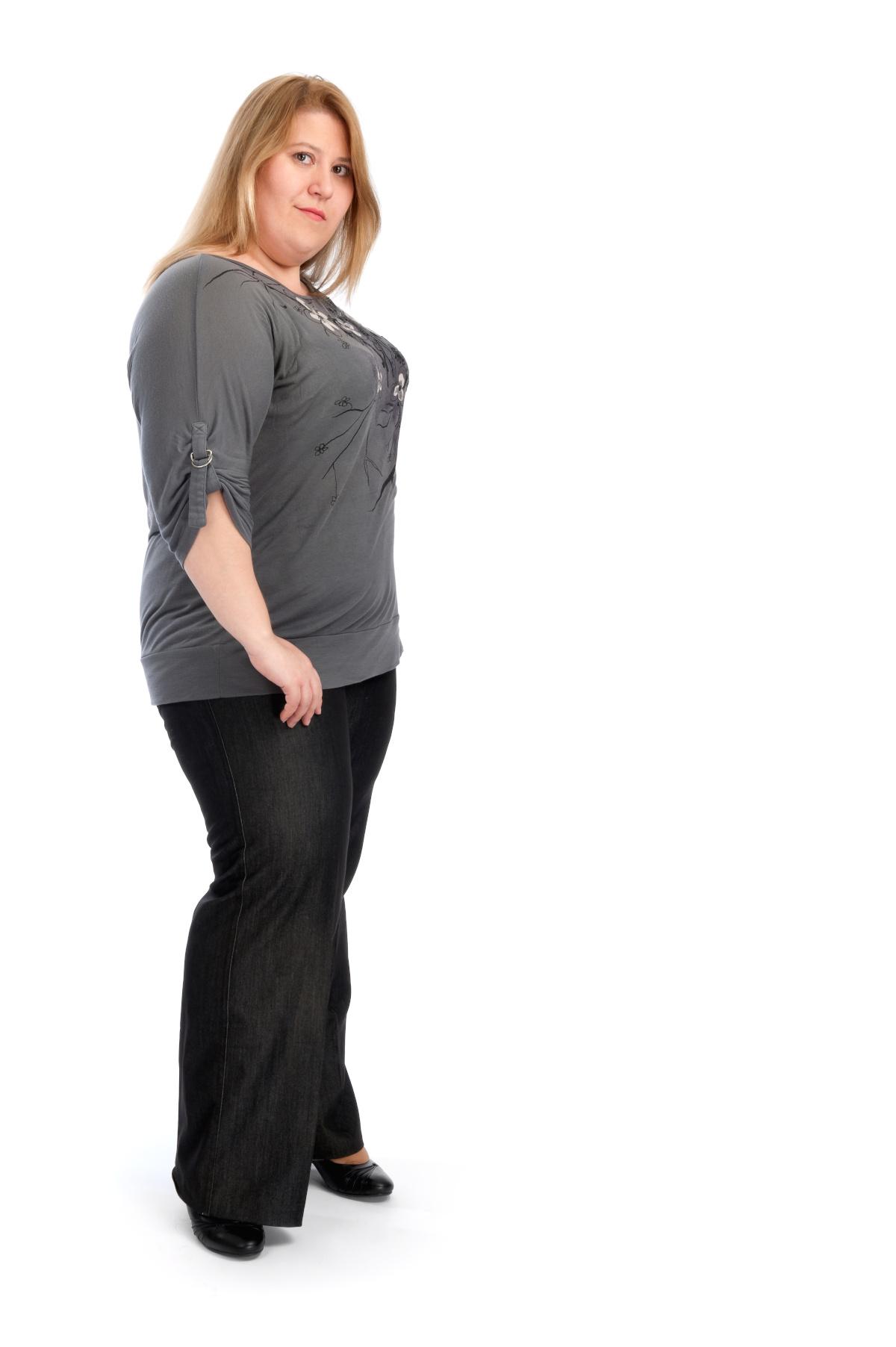 Odzież damska duże rozmiary a spodnie damskie